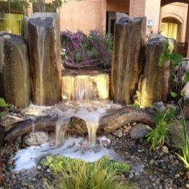 Rock Columns & Fountains
